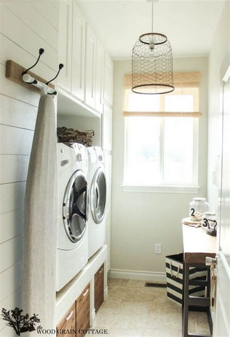 chicken wire pendant cottage laundry room the