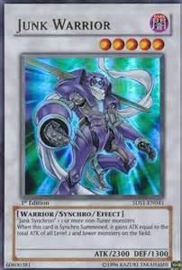 Yu Gi OH Junk Warrior