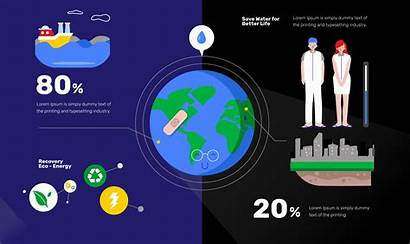 Clean Infographic Vector Illustration Flat System