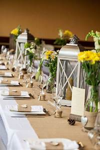Table Mariage Champetre : d co et fleurs by f elicit centre de table lanterne ~ Melissatoandfro.com Idées de Décoration