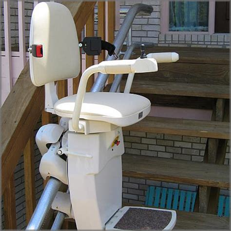 outdoor curved rail stair lift solutions mobility123 new