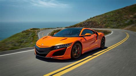 2019 acura nsx revised chassis high visibility paint job