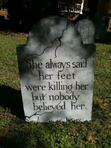 Funny Halloween Tombstone Sayings Images by 31 Creepy And Cool Halloween Yard D 233 Cor Ideas Digsdigs