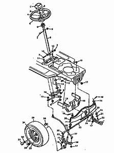 Steering System Diagram  U0026 Parts List For Model 502255752