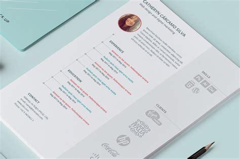 resume logos resume templates on creative market