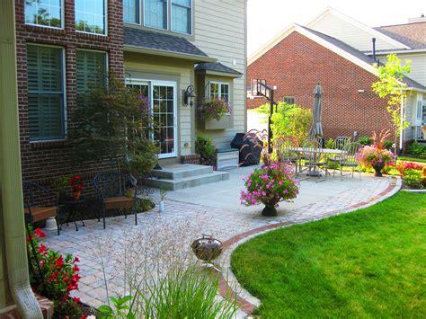 Extend Concrete Patio With Pavers, Backyard Concrete Patio
