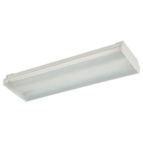 2 x 4 fluorescent light fixtures surface mount lighting