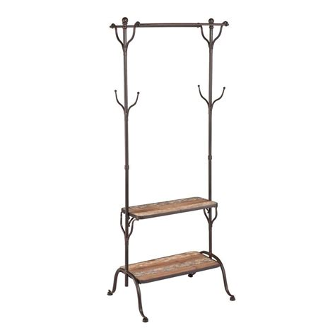 Outdoor Ceiling Fans Walmart by Southern Enterprises Distressed Fir Coat Rack Hd042947