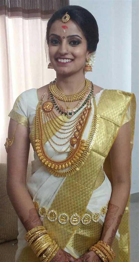 kerala wedding sarees blouse designs