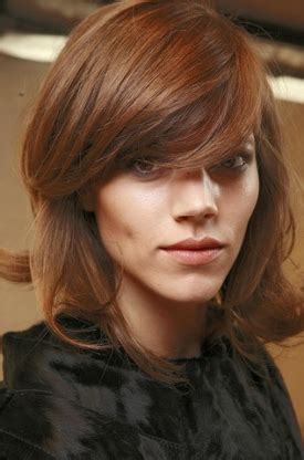 fallwinter  bangs hairstyles trend