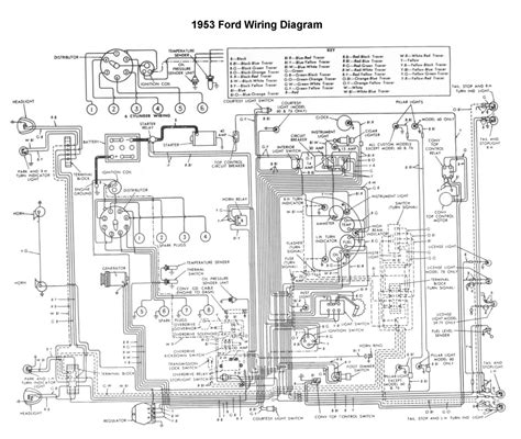 1954 Ford 8n Wiring Diagram by 1953 Ford Car Wiring Diagram Free Picture Wiring Library