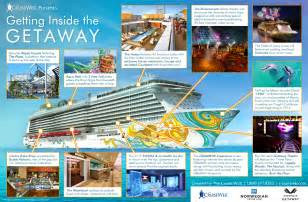 getaway cruise ship 2017 and 2018 ncl getaway destinations deals the cruise web