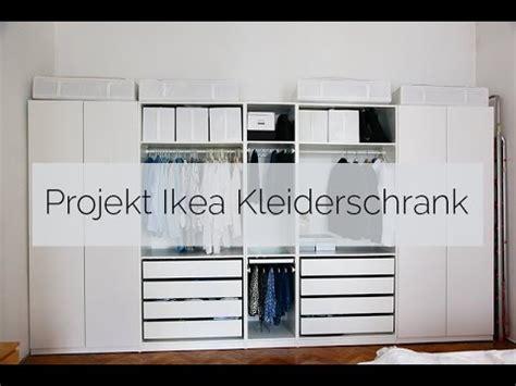 Kleiderschrank Für Dachschräge Ikea by Projekt Ikea Kleiderschrank
