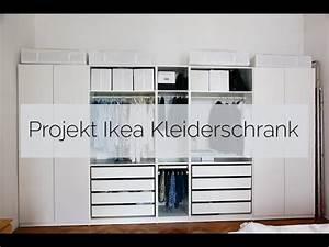 Ikea Weißer Kleiderschrank : projekt ikea kleiderschrank youtube ~ Eleganceandgraceweddings.com Haus und Dekorationen
