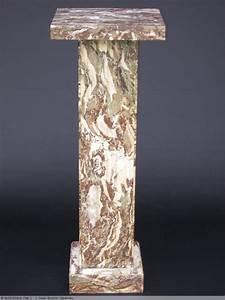 Objet Art Deco : colonne en marbre art d co xxe si cle ~ Teatrodelosmanantiales.com Idées de Décoration