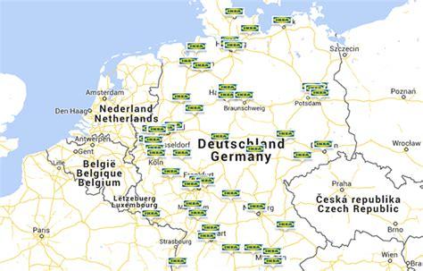 IKEA Standorte  Filialen von IKEA ikeacom