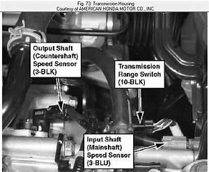 Where Is The Vss Speed Sensor On A 2007 Crv Honda Located