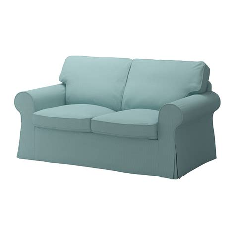 housse de canapé ektorp ektorp housse de canapé 2pla isefall turquoise clair ikea