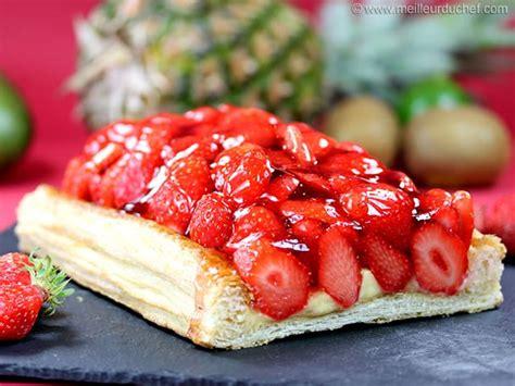 tarte aux fraises fiche recette avec photos meilleurduchef