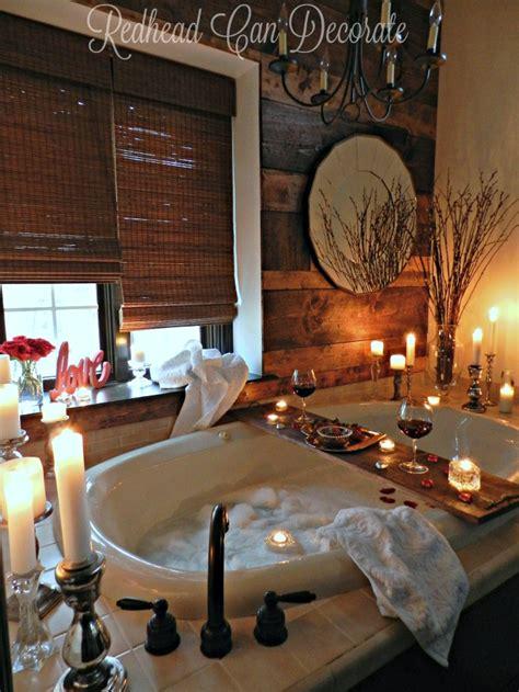 romantic bathroom date redhead  decorate