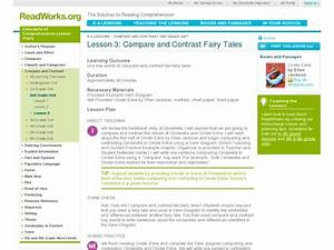 Compare And Contrast Fairy Tales Lesson Plan For 2nd Grade