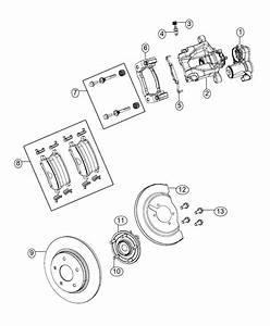 2017 Chrysler Pacifica Pad Kit  Rear Disc Brake