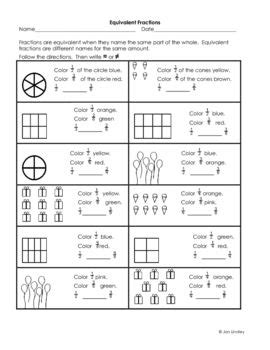 here s a series of 4 handouts for reviewing equivalent
