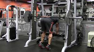 Smith Machine Floor Donkey Calf Raise