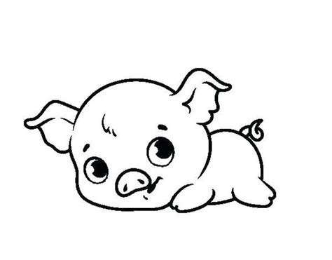 Cute Pig Coloring Pages Ideas (Huge Collection) Cute