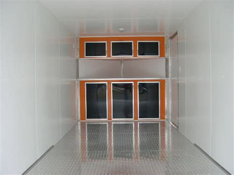 Enclosed Trailer Cabinets by Customizable Trailer Cabinets All Pro Trailer Superstore