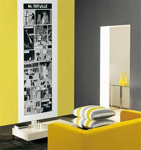 sala gris  amarilla decoracion home decor room paint