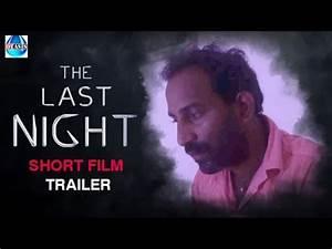 The Last Night Telugu Suspense Thriller Short Film TRAILER ...