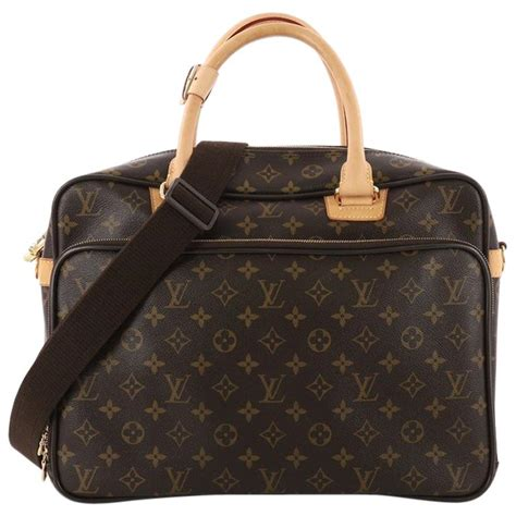 louis vuitton icare laptop bag monogram canvas  stdibs