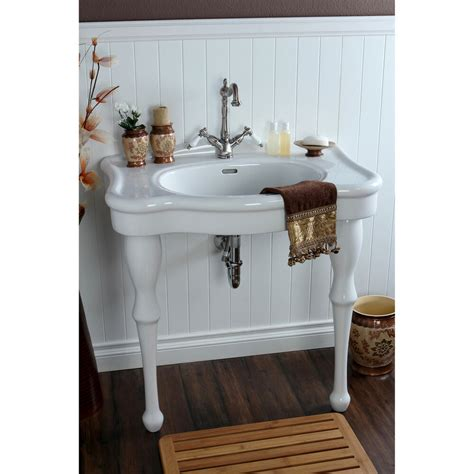 In Bathroom Sink by Vintage 32 Inch For Single Wall Mount Pedestal
