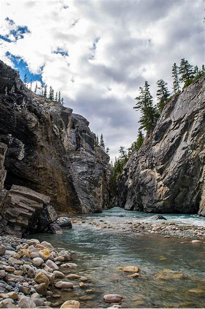 River Cline Canyon Guided Hike Trail Alberta