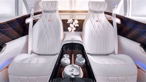 Luscious leathers and gleaming woods are used throughout, and the interior design is sleek and stylish. Maybach SUV | 2020 | Mercedes | Interior | Most luxurious SUV | canada |... | Best luxury cars