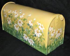 Hand Painted Mailbox Designs