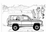 Bronco Ford Coloring Explorer Truck Template Sheets Sketch Carscoloring Trucks sketch template