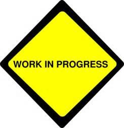 Work in Progress Clip Art Free