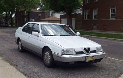 Alfa Romeo 164 Ls by Buy Used 1994 Alfa Romeo 164 Ls Sedan 4 Door 3 0l In