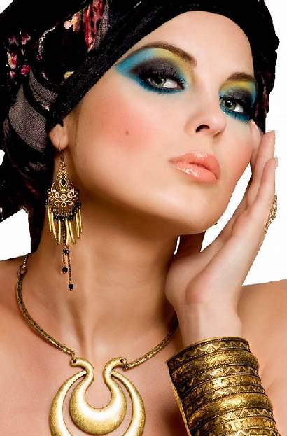 Makeup Egyptian Inspired Maquillage Oriental Cleopatre Perfect