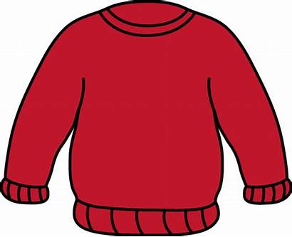 Sweater Clip Clipart Sweaters Sweatshirt Clothes Striped