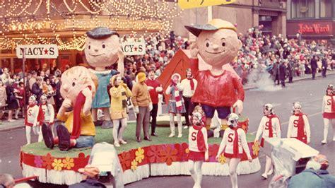 vintage    macys thanksgiving day parade  nyc