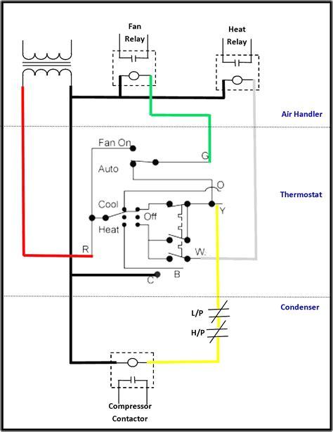 residential thermostat wiring diagram 37 wiring diagram