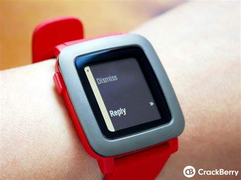 getting started with the pebble time on blackberry 10 crackberry