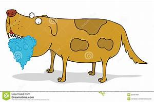 Mad dog stock vector. Image of foam, disgusting, drooling ...
