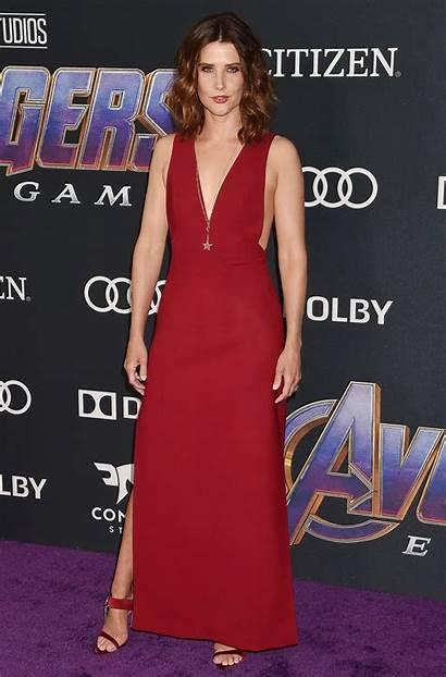 Smulders Cobie Avengers Endgame Premiere Angeles Los