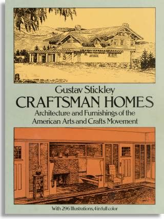 gustav stickley craftsman homes