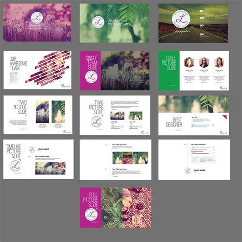 powerpoint design power design wellness bold