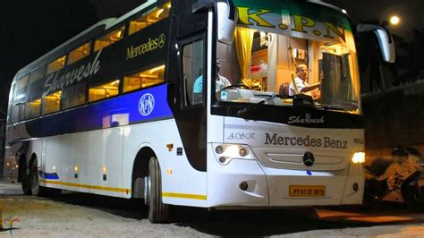 mercedes benz sleeper bus kpn travels rcbuses india